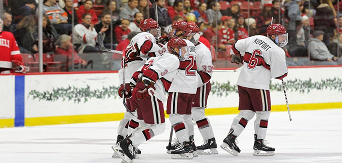 Harvard routs St. Lawrence, completes North Country sweep