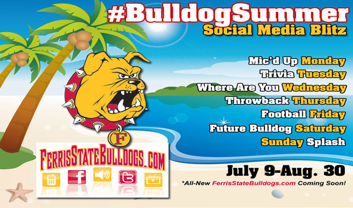 Follow The #BulldogSummer Social Media Blitz