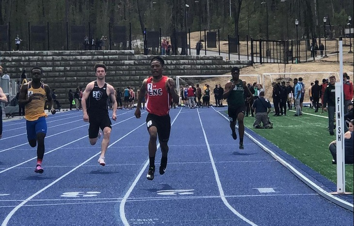 Travelis Mosley Claims NECC Men's Track & Field Rookie of the Year, Seven Placed on All-NECC Team