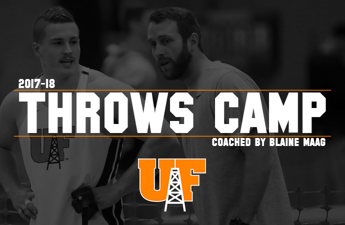Oilers to Hold Throws Camps