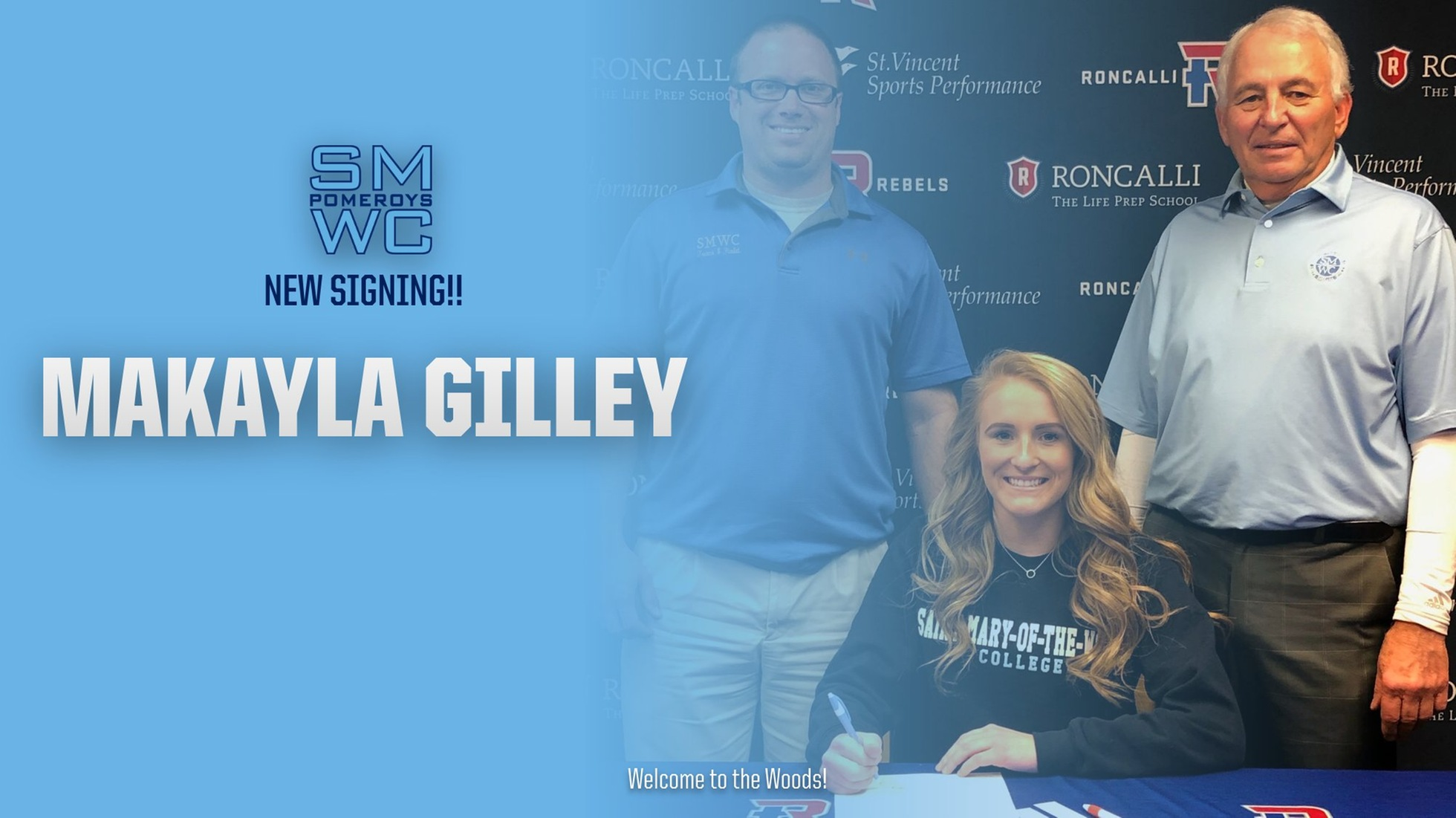 SMWC Women's Track & Field and Golf Inks Makayla Gilley