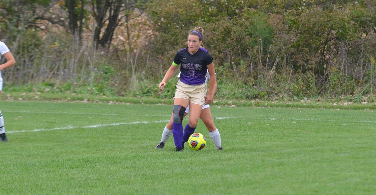 Women's Soccer Falls in Close Contest at Earlham