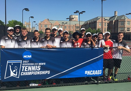 No. 4 Washington University Men's Tennis Advances to NCAA Quarterfinals for 11th Consecutive Year