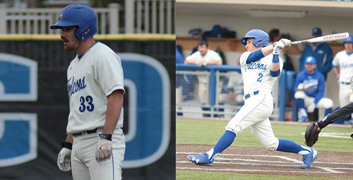 Two Baseball seniors collect D3baseball.com All-Region honors