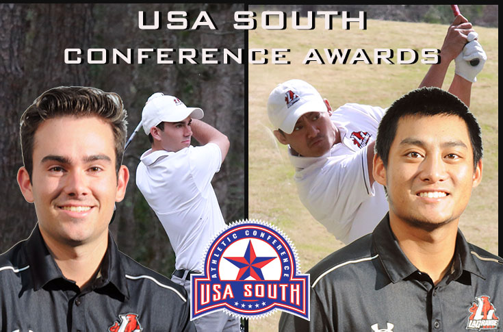 Golf: Logan Lanier and Osborn Theam selected to USA South All-Conference teams