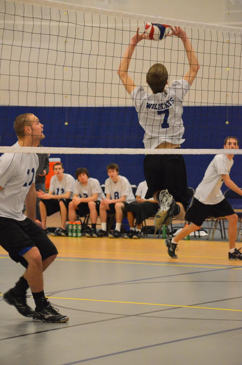 Men's Volleyball at Medaille College Tournament: Day One