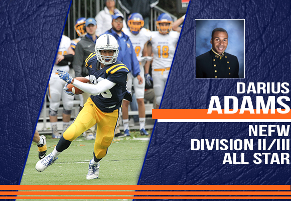 Adams Named to NEFW Division II/III All-Star