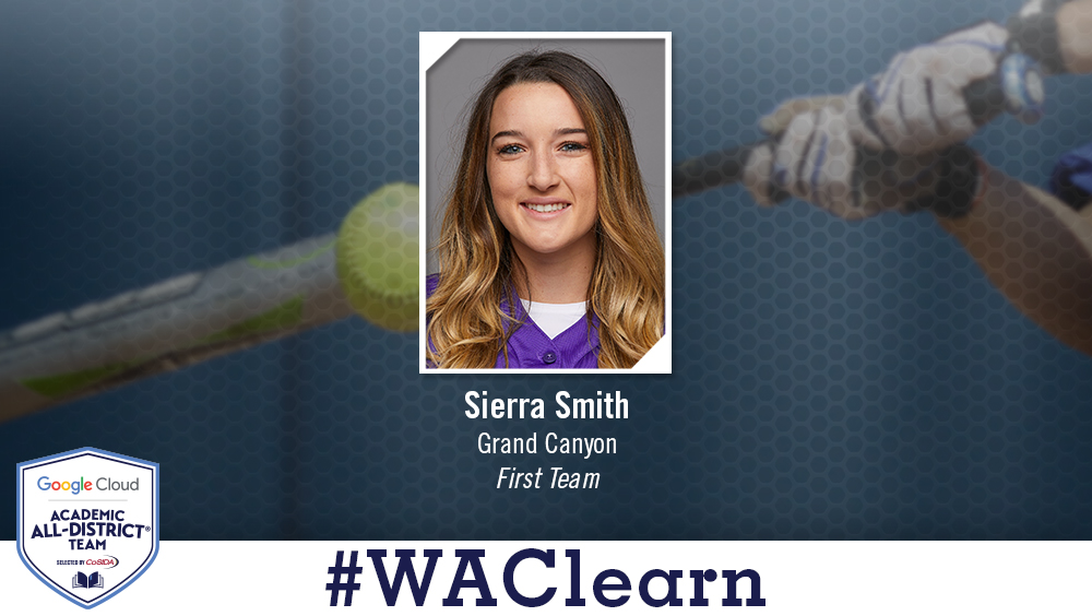 GCU's Sierra Smith Named Academic All-District