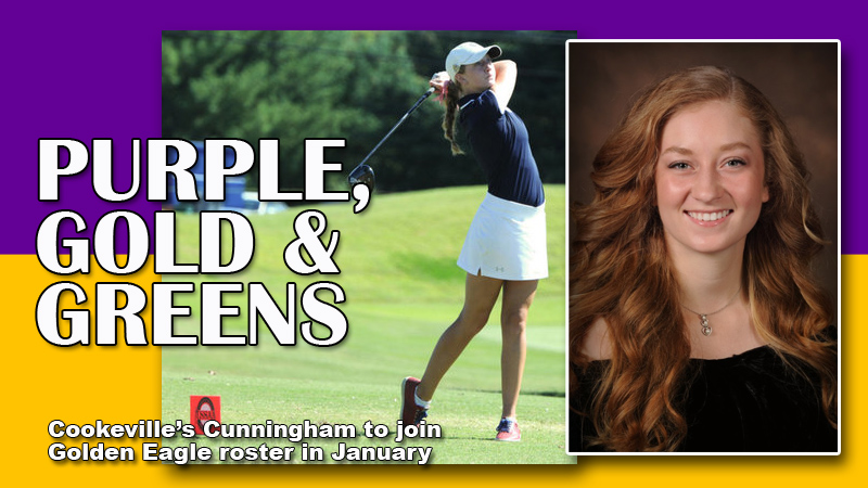Women's golf team adds local standout Anna Cunningham