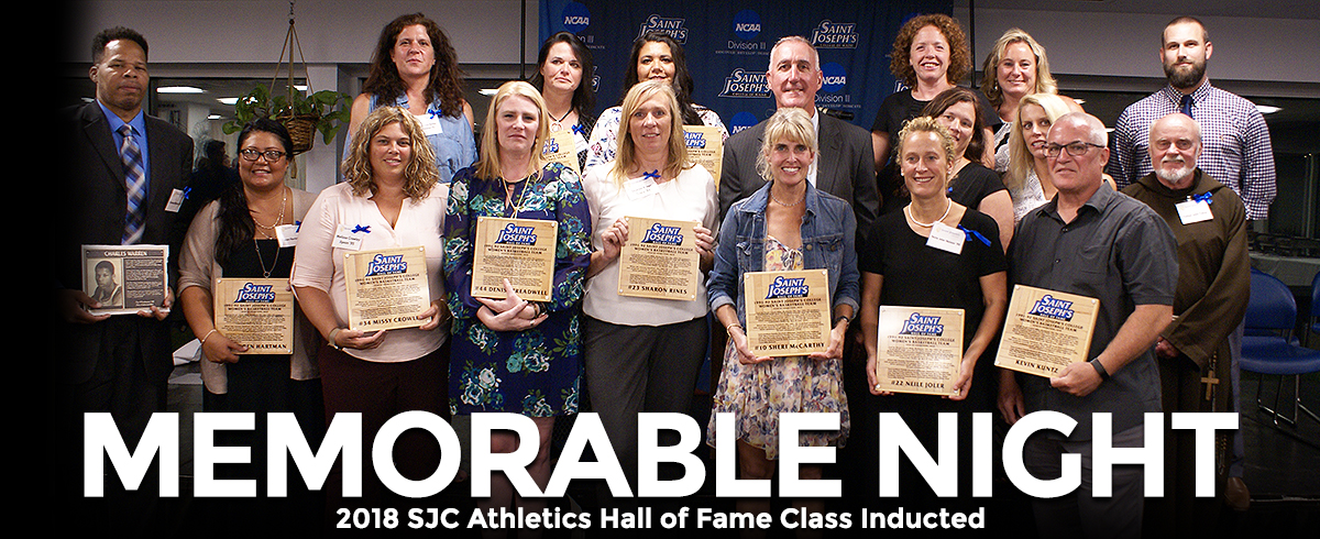 2018 SJC Athletics Hall of Fame Class Inducted