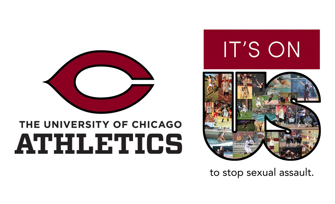 "UChicago Athletics partners with ""It's On Us"" campaign to stop sexual assault"