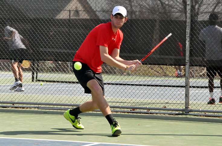 Men's Tennis: Panthers fall to regionally-ranked Oglethorpe