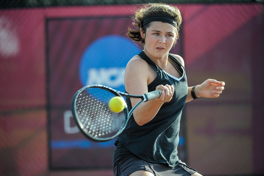 Roanoke Women's Tennis Claims 8-1 Win Over Guilford