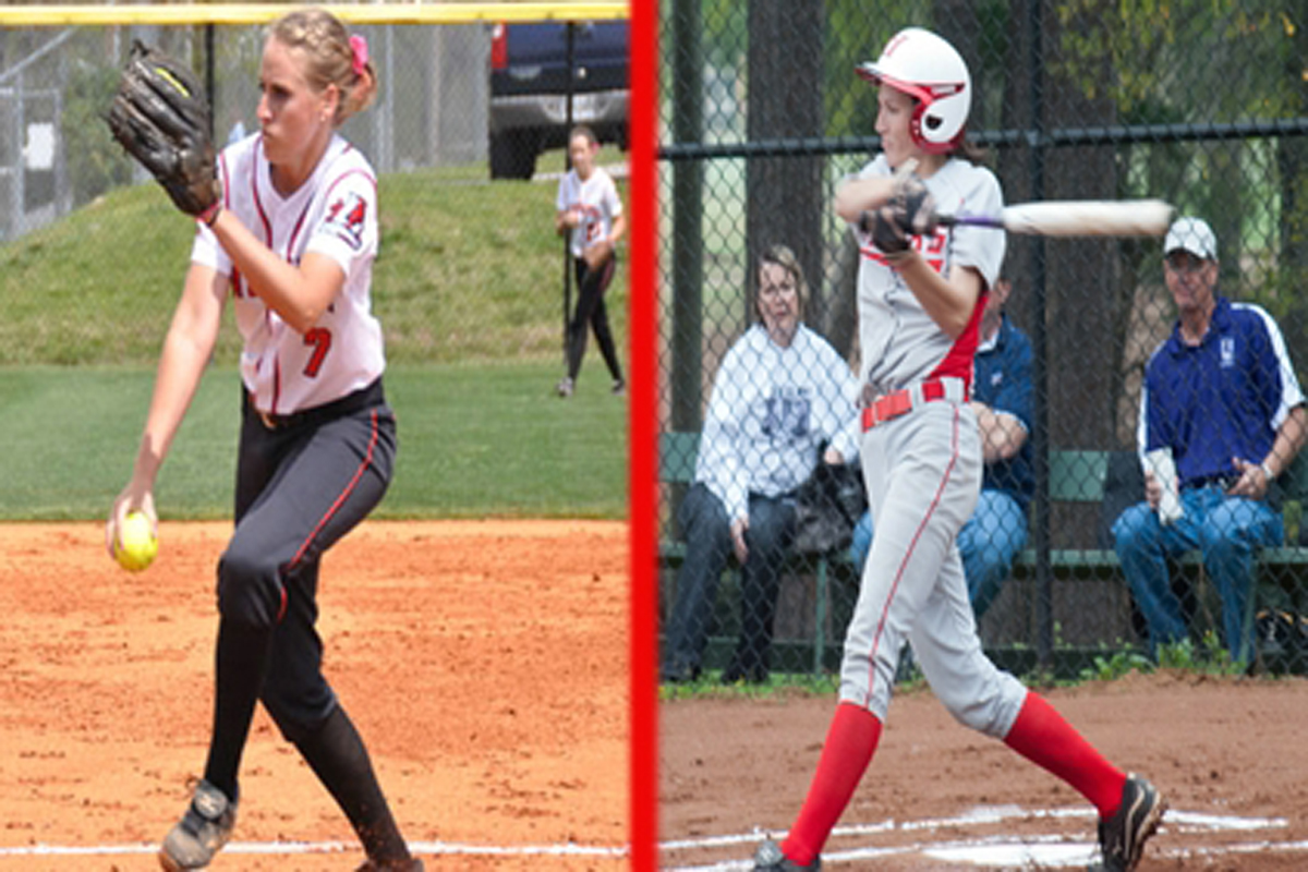 Payne and Folds Earn Weekly Softball Honors