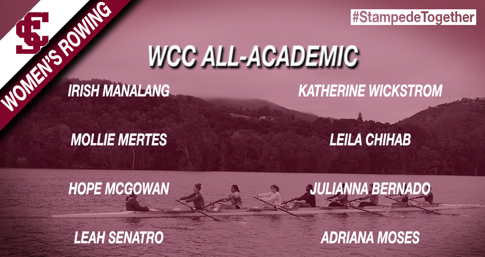 Eight Women's Rowers Honored for Academic Success