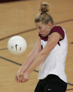 Volleyball Bests San Jose State in Four Games