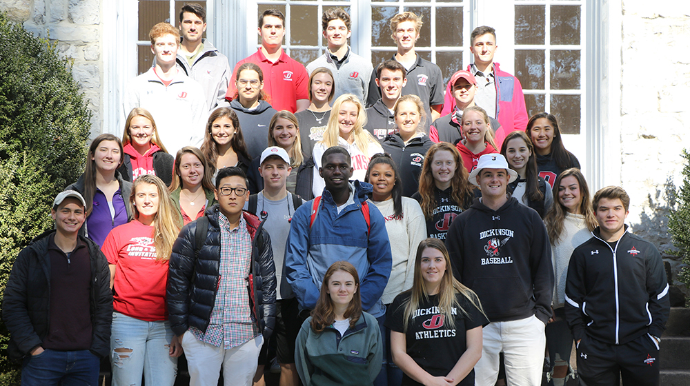 2018-19 Dickinson College Student Athlete Advisory Committee
