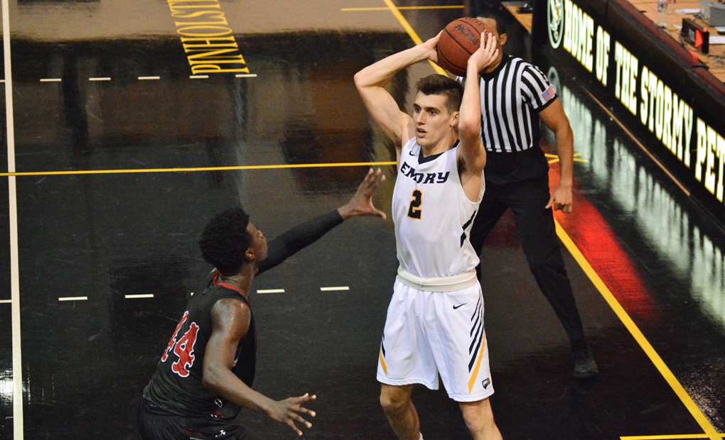 Emory Men's Basketball Rally Comes Up Short At LaGrange