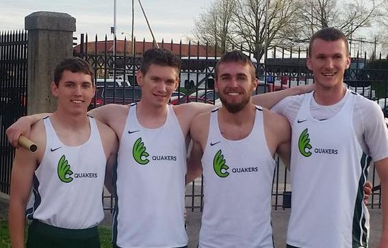Men's Track & Field 4-x-400-Meter Relay Squad Takes Third at All-Ohio Meet