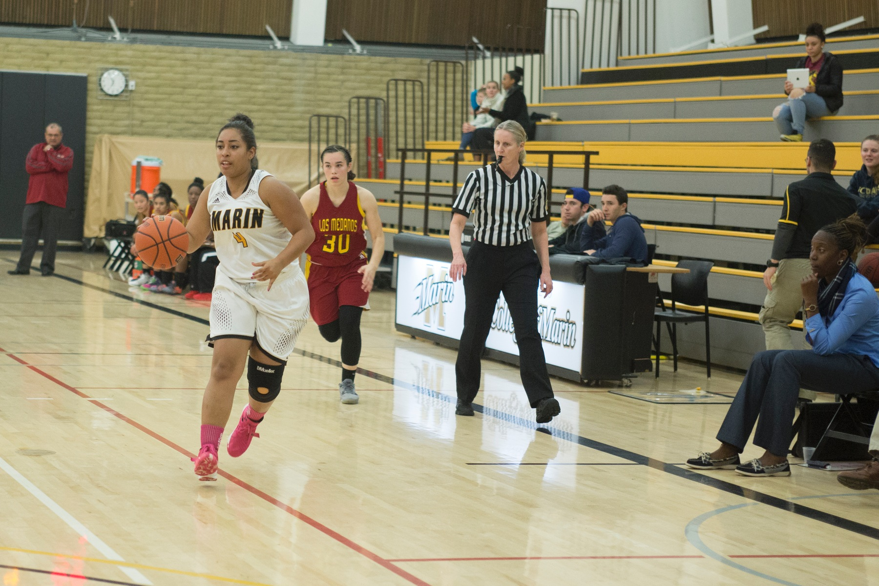 COM Women's Basketball Shows Resolve in 79-56 home loss to Solano College