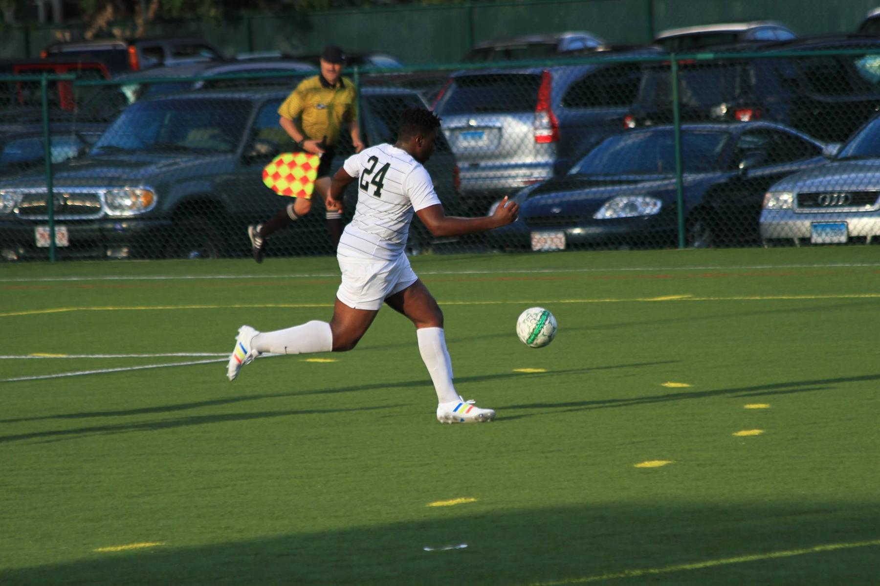 Men's Soccer Tripped Up At Daniel Webster