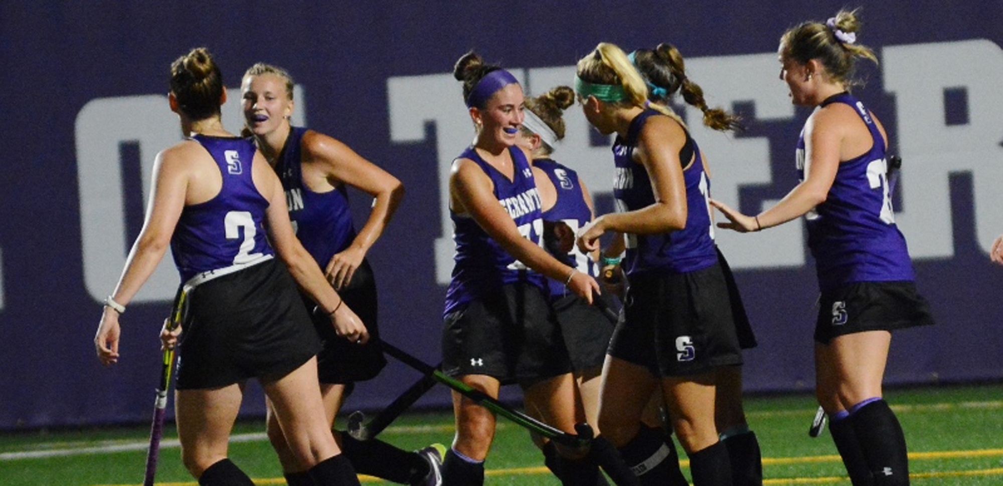 The field hockey team begins its quest for its first-ever Landmark Conference championship on Wednesday at Catholic.