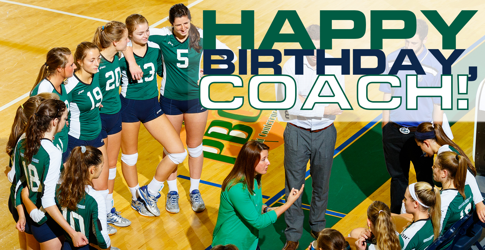 Bobcat Volleyball Gives Coach First Conference Win for Her Birthday
