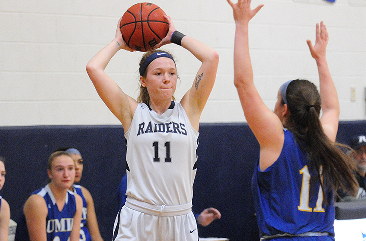 Women's Basketball: Kacavas nets 31 in 78-63 loss at Suffolk