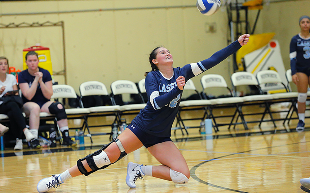 WVB: Lasell falls to Wentworth