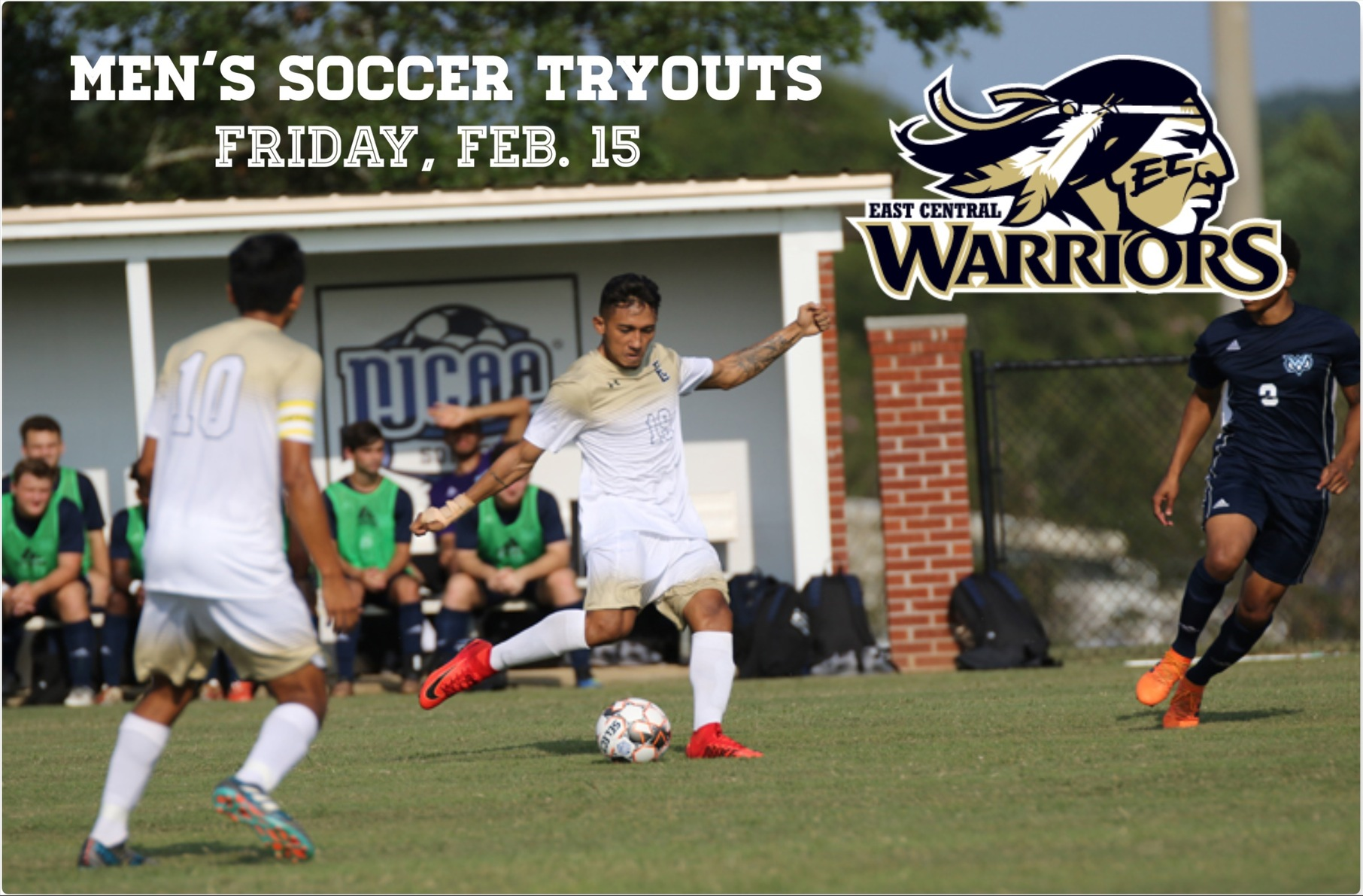 ECCC Men's Soccer Program to Hold Open Tryout Feb. 15