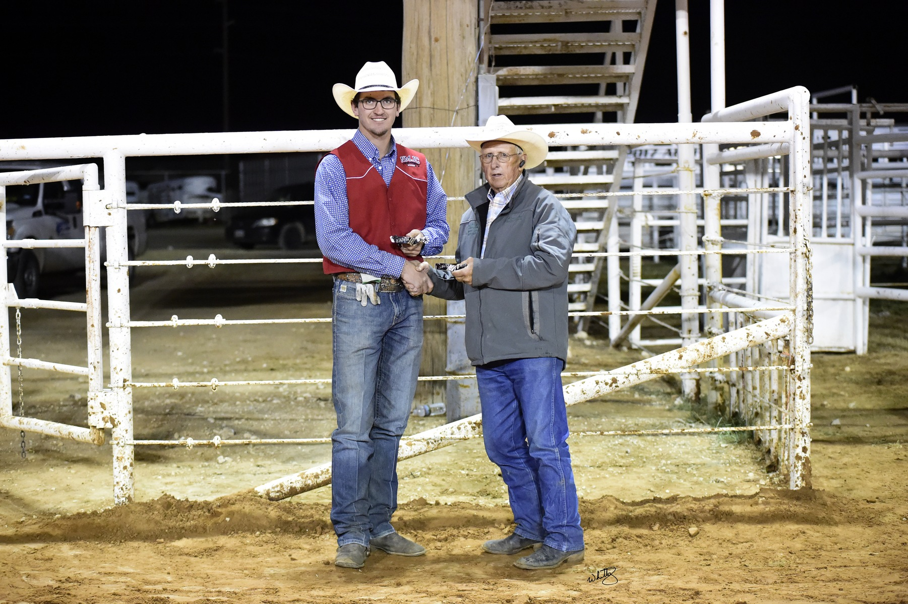 NMJC's Tee McLeod Wins the Men's All Around Champion ENMU Rodeo
