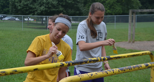Golden Eagle soccer team puts in work at Northeast Elementary