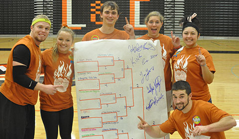 SAAC Puts on Annual Dodgeball Tournament