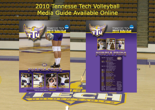 2010 Golden Eagle Volleyball guide available to view online