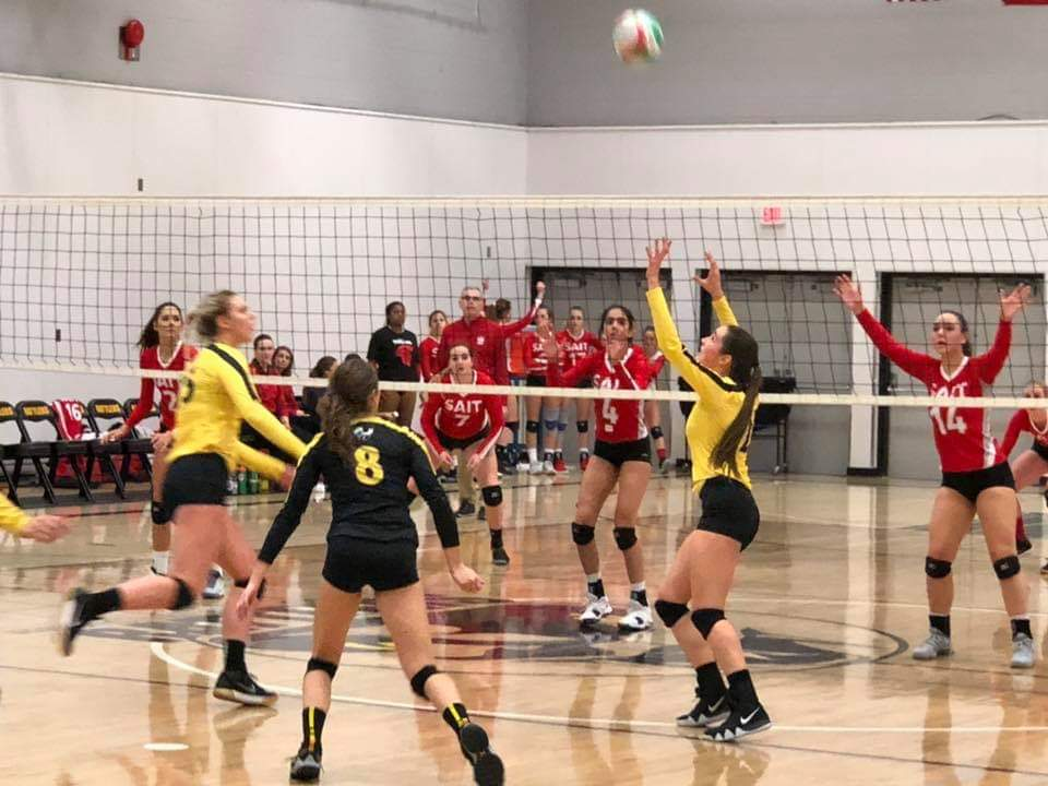 SAIT wins in straight sets in Medicine Hat