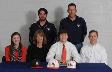 Madden commits to play college baseball at Mercer University