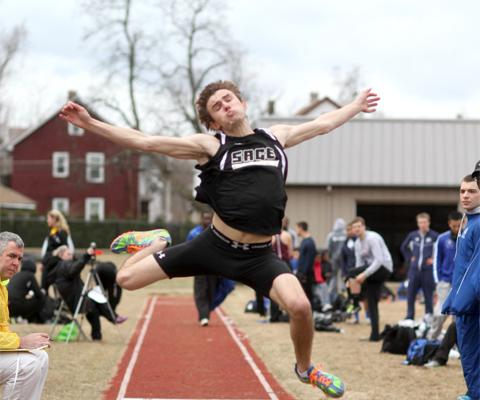 Sage Men's Track and Field Team competes for the first time