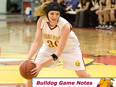 Junior forward Amy Joostberns & the Bulldogs head to Indiana for two games (Photo by Ed Hyde)