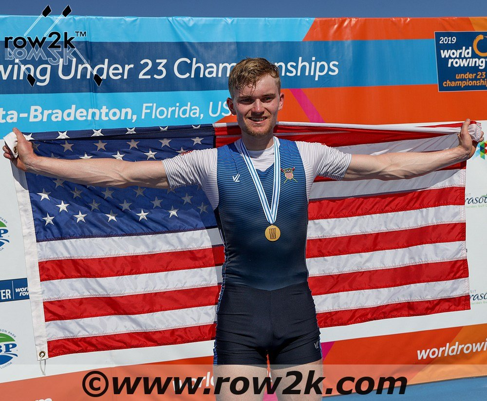 Former Pirate rower becomes world champion!