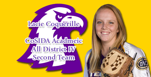 Tech's Lacie Coquerille named second-team Academic All-District