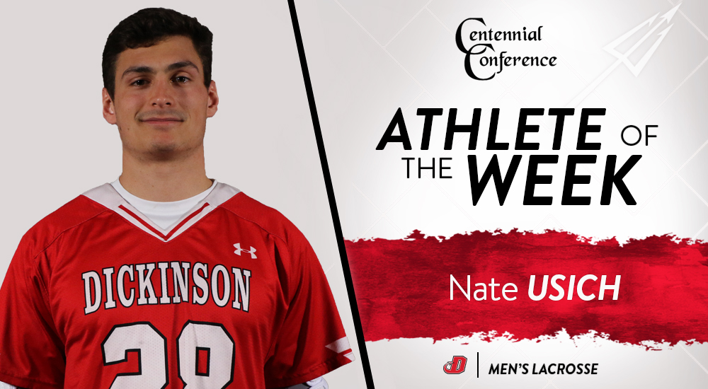 Usich Named CC Men's Lacrosse Player of the Week
