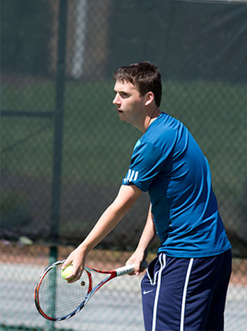 Bridgewater Drops Emory & Henry Men's Tennis, 7-2, Saturday Afternoon