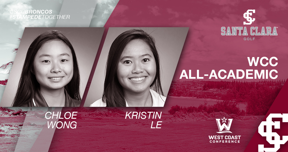 Two Women's Golfers Make WCC All-Academic Team