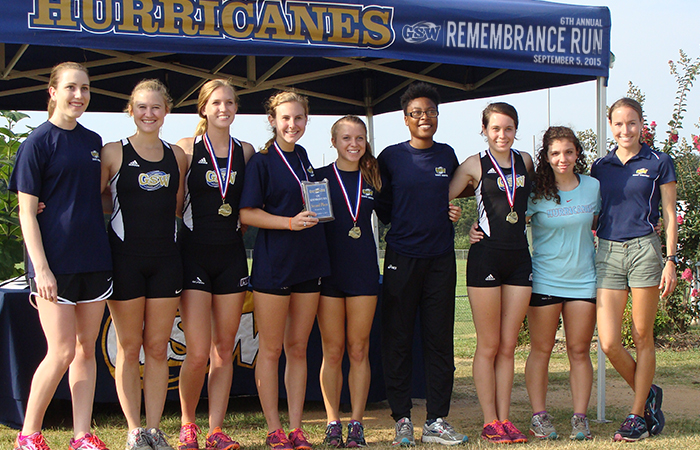 Lady 'Canes Take Second Place At Remembrance Run