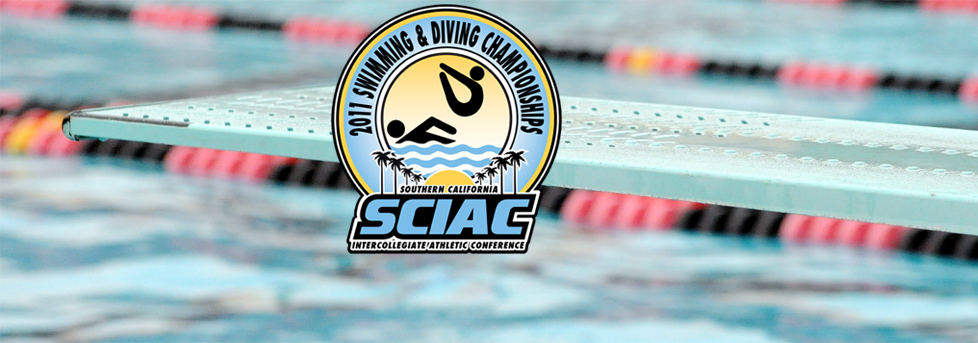 2011 Swimming & Diving SCIAC Championships Conclude in Long Beach