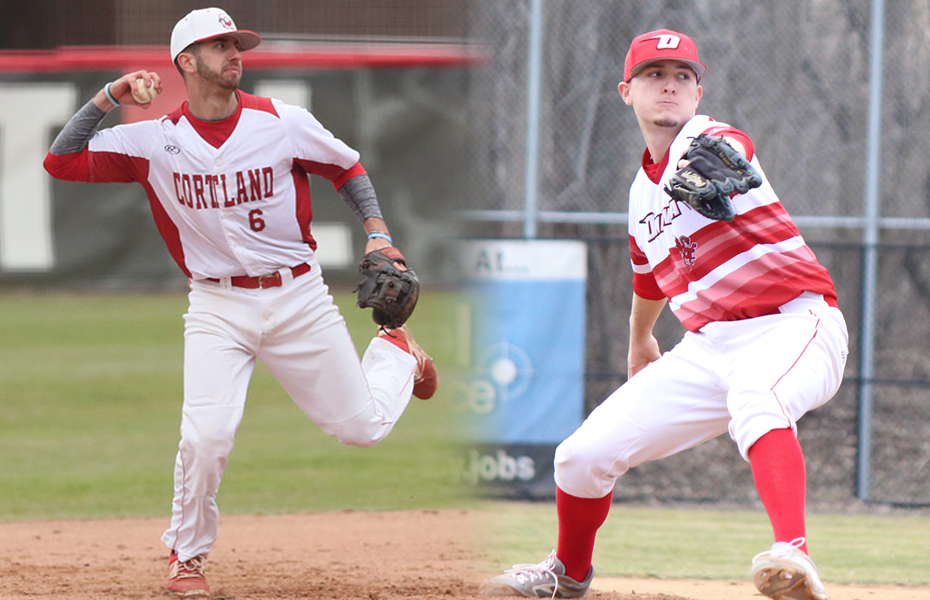 Cortland and Oneonta Honored with Baseball Weekly Awards