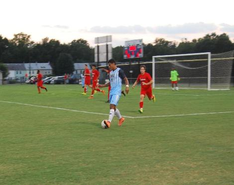Impressive Home Opener For Men's Soccer