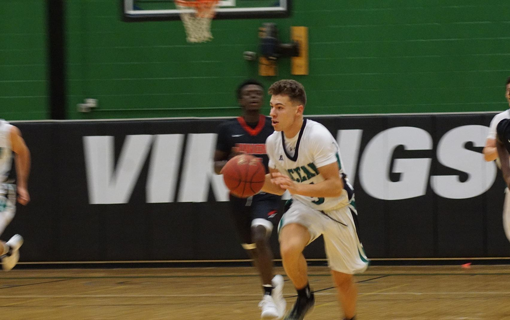 O'Donnell Drops 22 as Ocean Falls to Camden, 81-73