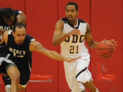 University of the District of Columbia Men's Basketball Cruises Past NYIT, 109-73