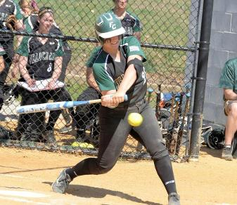 Ciera Clark is Felician's first All-Region softball player. (Steven R. Smith)